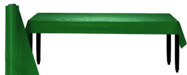 Green Table Roll - 30m Plastic
