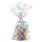 Polka Dots Cellophane Party Bags