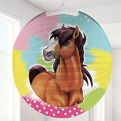 Charming Horses Round Paper Lantern