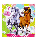 Charming Horses Paper Luncheon Napkins 2ply