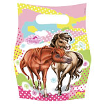 Charming Horses Party Bags - Plastic Loot Bags