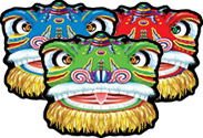 Chinese New Year Dragon Cutouts - 40cm