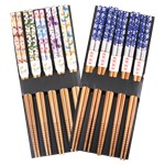 Chinese New Year Wooden Chopsticks - Assorted Designs