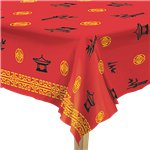 Chinese New Year Plastic Tablecover - 54 x 108