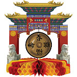 Gong Centrepiece - 22cm Chinese New Year Decoration