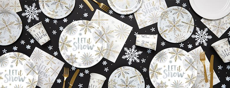 Let It Snow - Christmas Party Supplies