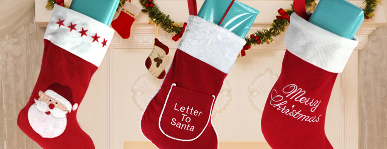 Christmas stockings sacks for kids party delights christmas stockings sacks spiritdancerdesigns Gallery