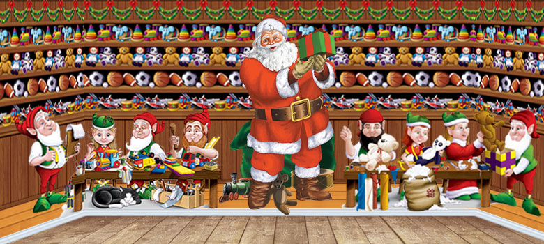 Christmas Scenes Images.Christmas Scene Setters Xmas Scenes Party Delights