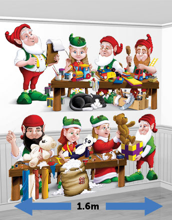 Santas Workshop Elves Add-On - 1.6m