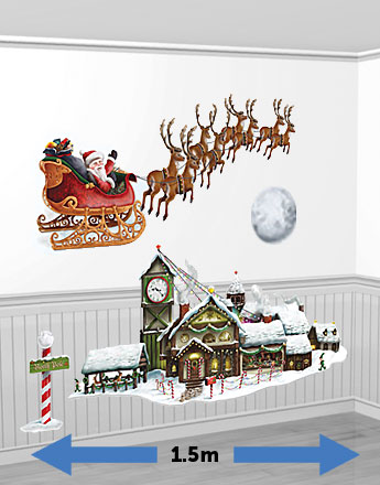 Santa's Sleigh & Workshop Add-Ons - 1.5m