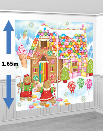 Sweet Christmas Scene Setter Kit - 1.65m