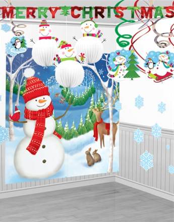 Winter Friends Room Decorating Kit