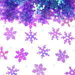 Iridescent Snowflake Table/Invite Confetti