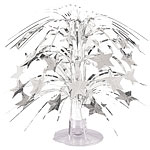 Silver Star Mini Cascade Table Centrepiece - 22cm