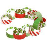 Botanical Christmas Sprout Paper Chains