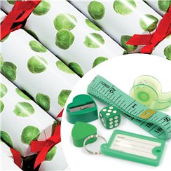 Botanical Sprout Christmas Crackers
