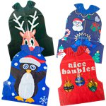 Christmas Entertainment Jumper Bibs