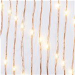 Nordic Christmas Copper Wire LED Lights - 3m