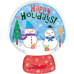 "Snow Globe Balloon - 18"" Foil"