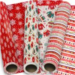 Festive Fun Christmas Wrapping Paper - 5m