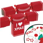 Jumper Shaped Christmas Crackers