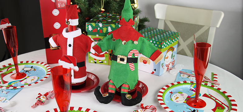 Santa Claus Table Decorating Ideas Party Delights