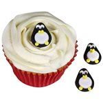 Penguin Sugar Toppers