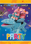 Clangers Invitations and Envelopes