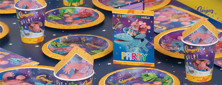Clangers Party Supplies
