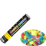 Multi Coloured Paper Confetti Cannon - 24cm
