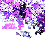 Pink Happy Birthday Table/Invite Confetti