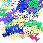 Happy Birthday Table/Invite Confetti - Multicoloured