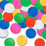 Multicoloured Dots Table/Invite Confetti