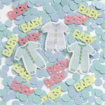 Baby Clothes Table/Invite Confetti