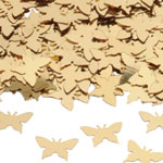 Gold Butterflies Table/Invite Confetti