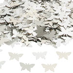 Silver Butterflies Table/Invite Confetti