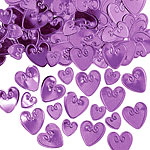 Purple Loving Hearts Table/Invite Confetti