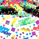 Happy Retirement Table/Invite Confetti