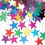 Jumbo Stars Multicoloured Table/Invite Confetti