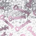 Christening Table/Invite Confetti - Pink