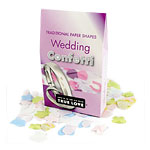 Traditional Wedding Throwing Confetti - Paper