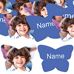 Royal Blue Butterfly Personalised Confetti