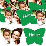 Green Butterfly Personalised Confetti