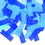 Pinata Confetti - Light Blue, Royal Blue and Red