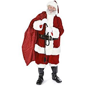 Christmas 5'11 Santa with Sack Cardboard Cutout