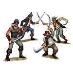 Duelling Pirate and Bandit Props Add-ons