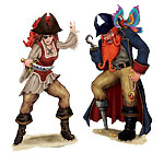 Bonny Blade and Calico Jack Add-On