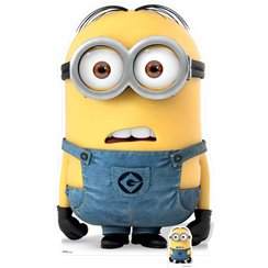Minion Dave Cardboard Cut Out - 147cm
