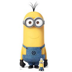Minion Kevin Cardboard Cut Out - 180cm