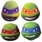 Ninja Turtles Party Masks